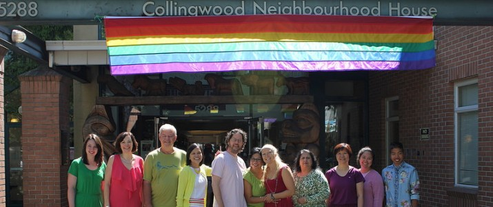 Collingwood Neighbourhood House Pride