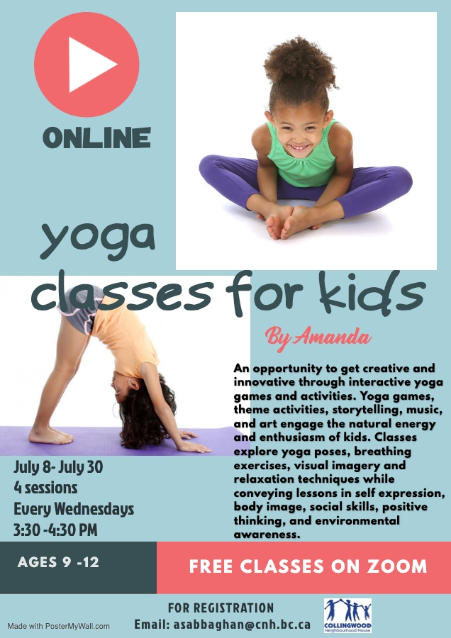 Yoga Classes For Kids Ages 9 12 Collingwood Neighbourhood House