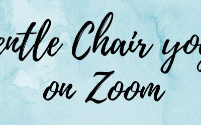 Gentle Chair Yoga on Zoom (55+)