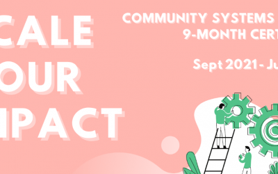 Scale Your Impact: Community Systems Change 9-Month Certificate